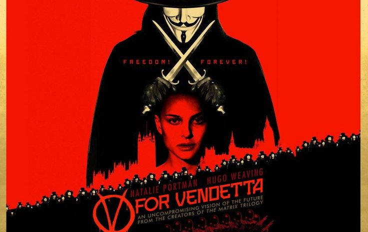 V for Vendetta: Η ταινία που έκανε σύμβολο τη μάσκα του Γκάι Φωκς www.sta.cr/2C2E7