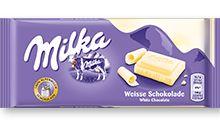 Milka Λευκή σοκολάτα