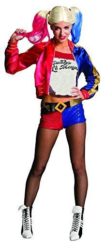 I love suicide squad halloween costumes as they are creepy, twisted and super wicked. My favorite is Harley quinn but I also love the joker, katana, deadshot and of course killer crock Halloween costumes.    Rubie's Women's Suicide Squad Deluxe Harley Quinn Costume, Multi, Small