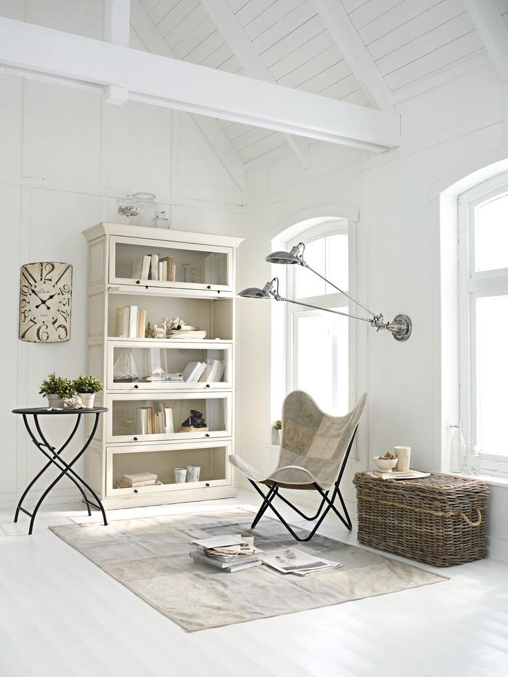 101 best Wohnen in Weiß images on Pinterest All white - wohnzimmer weis shabby