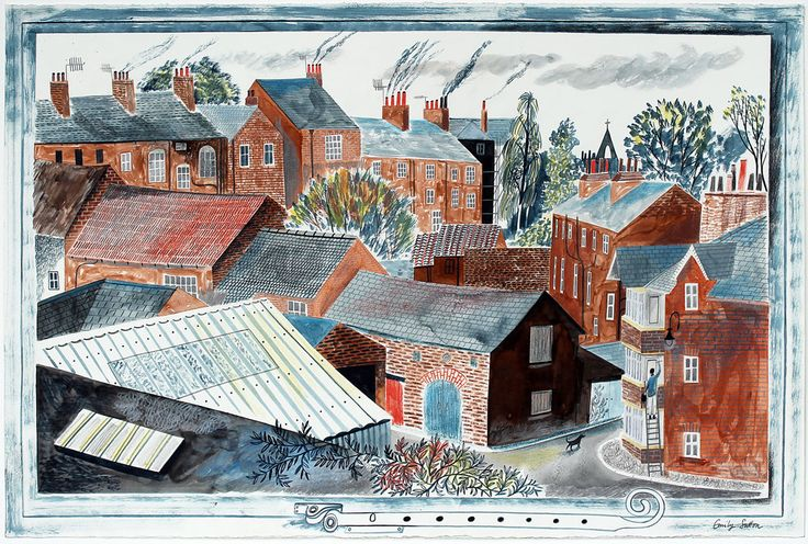 'View from My Studio II' by Emily Sutton