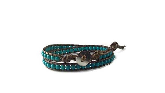 bracelet homme, cadeau homme, bracelet bohème, cadeau de noël pas cher, cadeau femme, beaded wrap bracelet, anniversaire homme femme