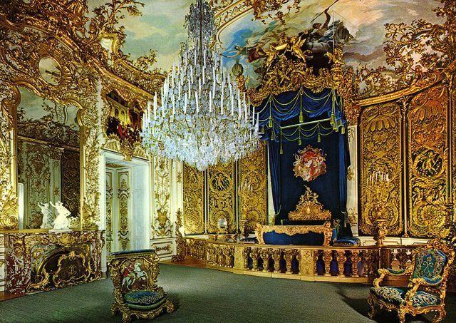 Linderhof Palace And The Venus Grotto As I Castles Interior Linderhof Palace Neuschwanstein Castle