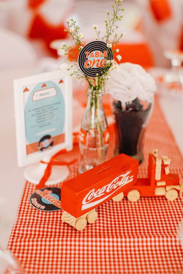 Lucas' 50's Diner Party | CatchMyParty.com