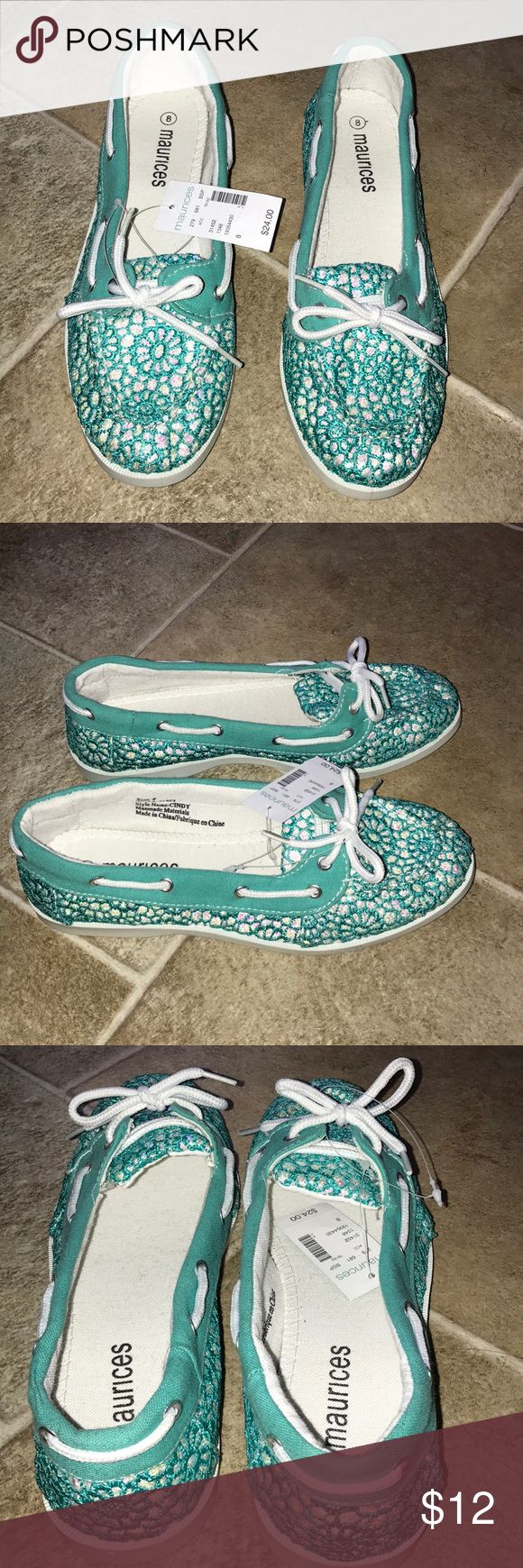 Shoes New, size 8, jade green in color, from Maurices Maurices Shoes