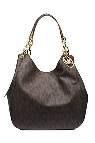 481dc872cb89 Michael Kors Anita Large Convertible Shoulder Bag (Brown)