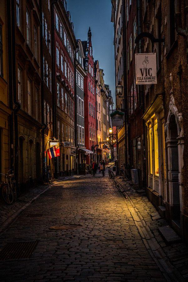 War dieses Wochenende in Stockholm und besuchte dann die Altstadt. Staunen Sie, wie schön es in unserer Hauptstadt ist.