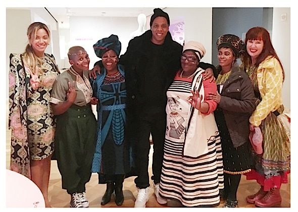 This week, the Carter's visited the Cooper Hewitt, Smithsonian Design Museum. Beyonce, Jay Z and Blue Ivy Carter were spotted taking in the culture offered
