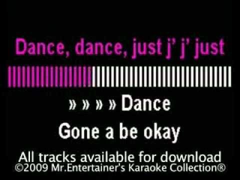 Lady Gaga - Just Dance karaoke HD (little cheesy but at least the lyrics are correct)