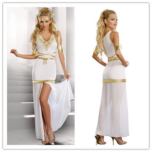 Купить товар2015 женщины платья косплей классический хэллоуин костюмы клеопатры игры костюмы экзотические одежды греческой богини платье костюм горячая распродажа в категории Платьяна AliExpress.                                    Почему выбирают нас?                                             Мы являемся професси