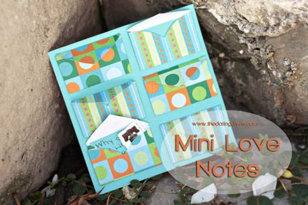 Mini Love Notes - perfect for long distance relationships, anniversary, birthday, or Valentines. #longdistance #lovenotes #anniversary