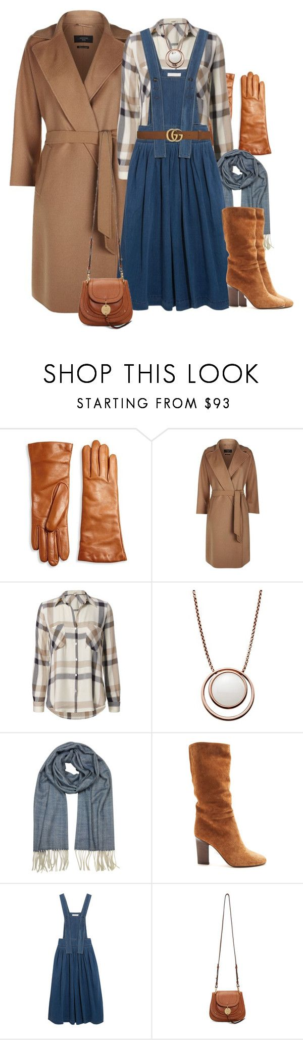 """fm #371"" by u-929 ❤ liked on Polyvore featuring Saks Fifth Avenue Collection, Weekend Max Mara, L'Agence, Skagen, Mila Schön, Samuele Failli, Chloé, See by Chloé and Gucci"