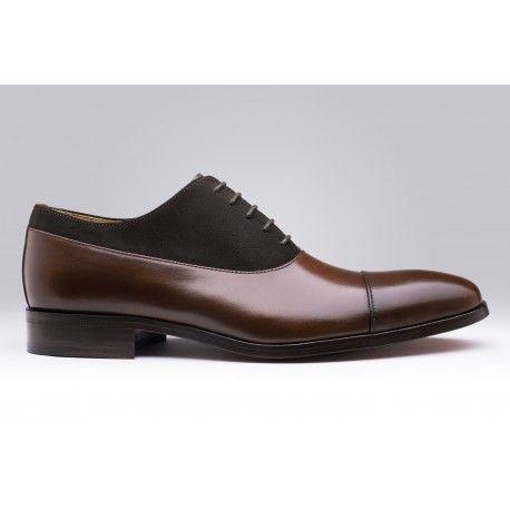 Chaussure en cuir et à lacets par Finsbury, modèle JERICO Marron sur LE GRAND CATALOGUE