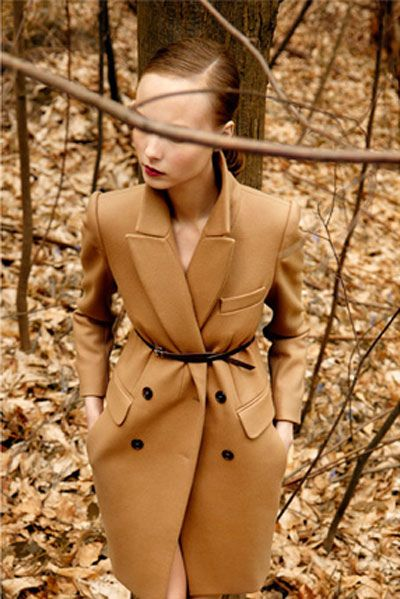 Camel Coat  #style #fashion #camelCamel Coats, Carven Fall, Outerwear Inspiration, Coats Style, Fashion Inspiration, Fashion Photography, Fashion Ads, Carven 2010, Fall 2010