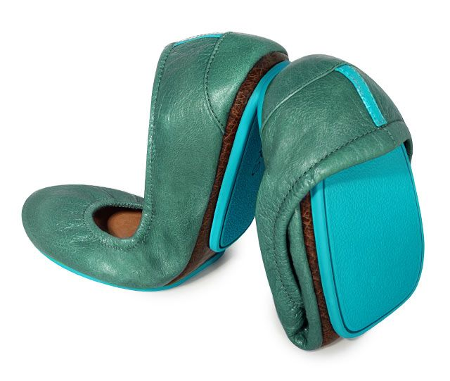 Tieks Pacific Green
