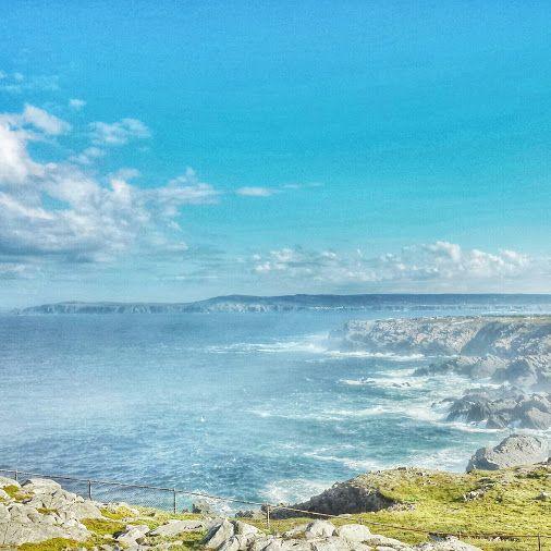 View from Bonavista Cape ♡♡♡  • #tstMoments  • #tstCanada w @NLtweets @ExploreCanada • #ExploreNL #explorecanada • #Travel #Canada #Newfoundland #Bonavista