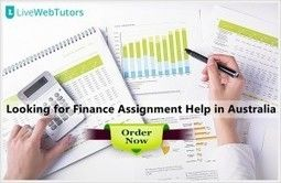 Avail Top Notch Quality Finance Assignment Help Services