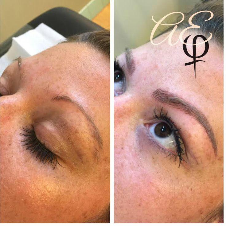 The 25 best brow tattoo ideas on pinterest eyebrow for Semi permanent tattoo near me