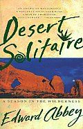 Desert Solitaire by Edward Abbey:  This memoir by Edward Abbey recounts his years as a park ranger working at Arches National Park in Utah. Abbey's keen eye and sharp writing clearly impart the beauty of the desert and the importance of preserving our limited natural resources. His reflections and...