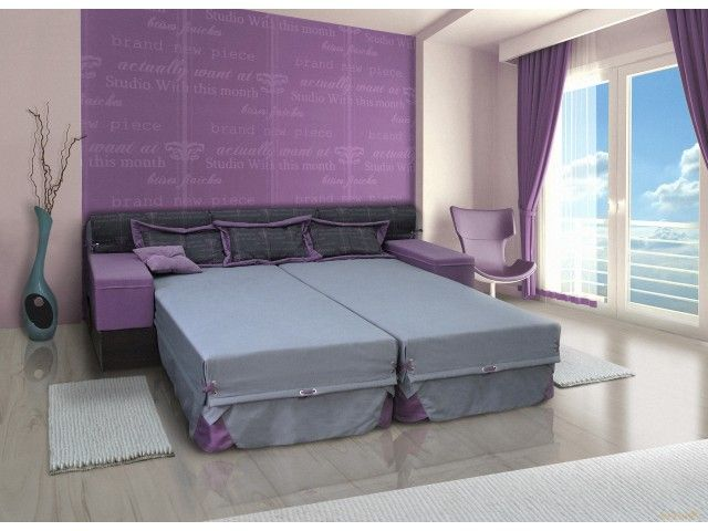 Диван-кровать Твикс - это удобный практичный диван, который легко трансформируется в удобную двуспальную кровать, в две односпальные кровати или может стать угловым диваном.