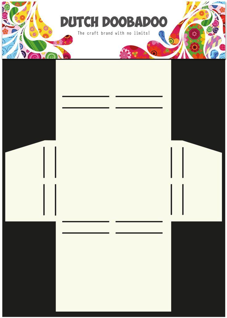 470.713.017 Dutch Doobadoo Box Art A4 Merci