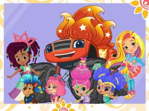 Join Sunny, the PAW Patrol, Nella, Shimmer and Shine, Blaze, Team Umizoomi, and the Bubble Guppies as Sunny gives her Nick Jr. friends new hairdos in this video!