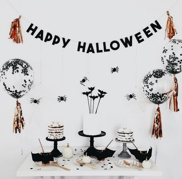 cutest halloween set up