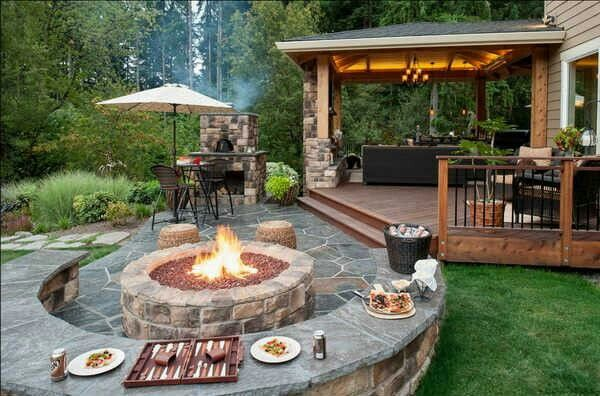 Braai area - I am in love with this layout!