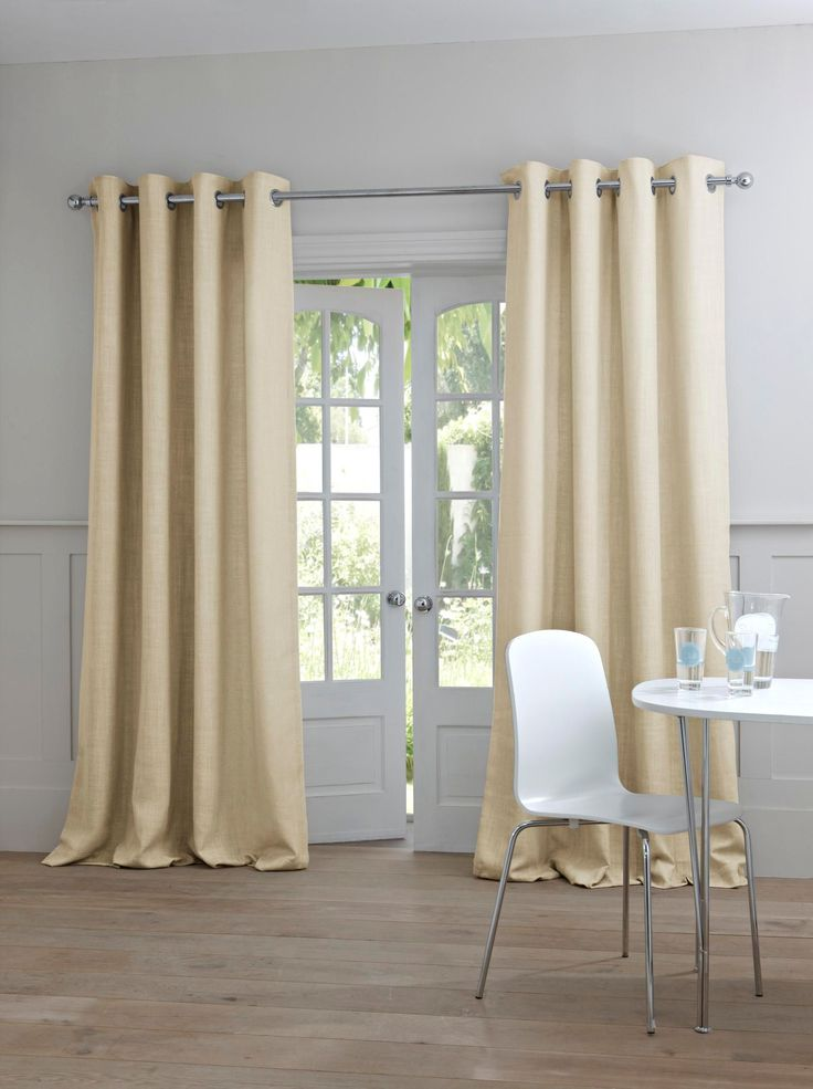Buy Cream Woven Texture Eyelet Curtain From The Next UK Online Shop Would Give A
