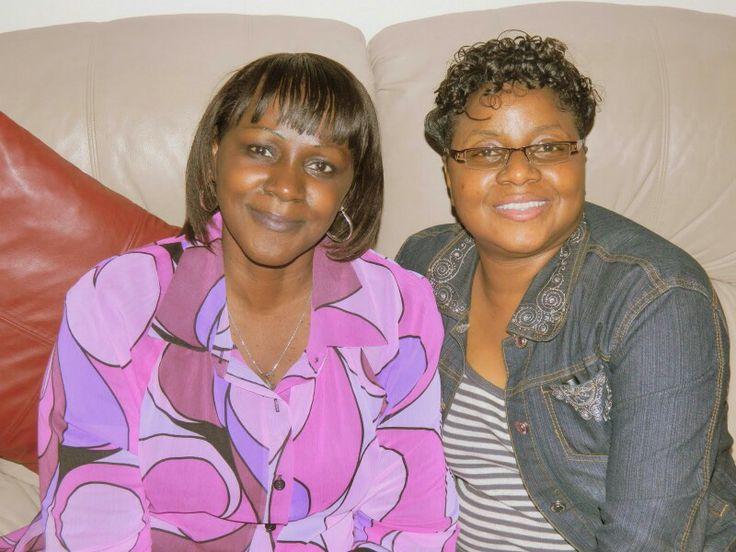 Beautiful Mom and Beautiful Cousin