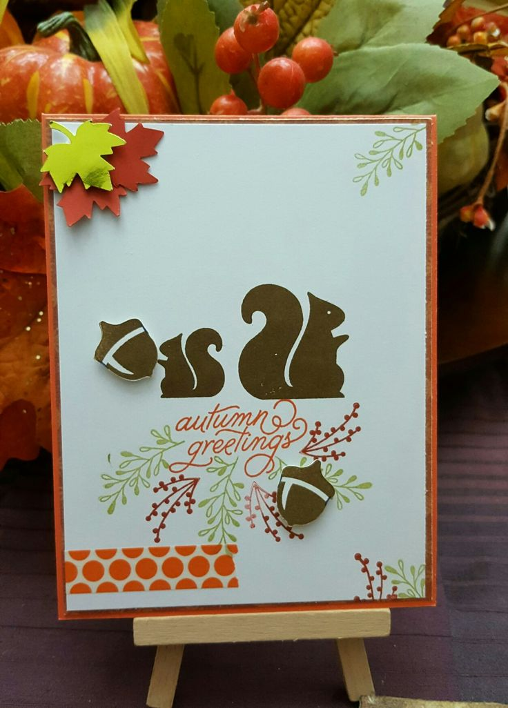 68 best my greeting cards images on pinterest greeting cards art autumn greetings fall themed card stamp by simon says stamps sweetssignaturesampinup m4hsunfo Image collections