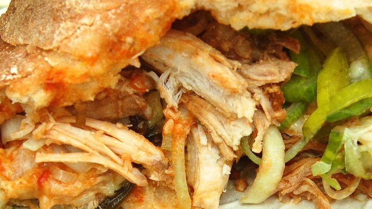 Leftover Turkey & Leek Calzone