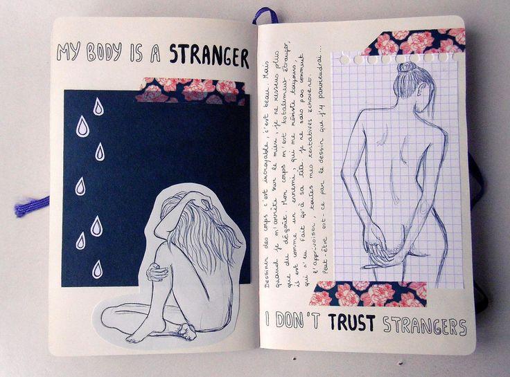 "magicalgloom: ""07/11/2016 My body is a stranger """