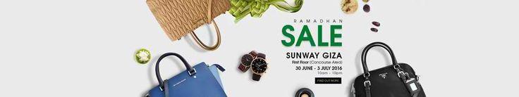 30 Jun-3 Jul 2016: Celebrity Wearhouz Ramadan Sale