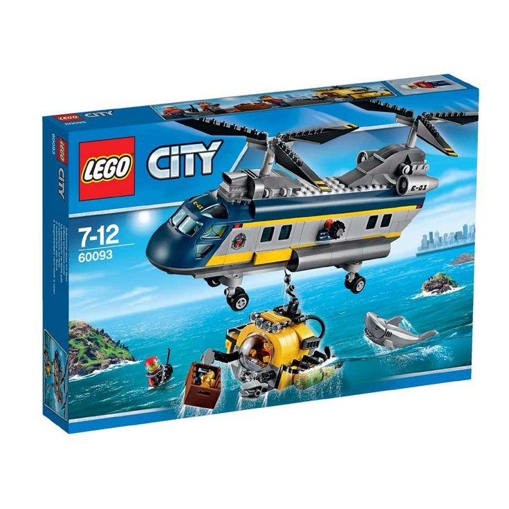 LEGO City diepzee helikopter 60093   Intertoys
