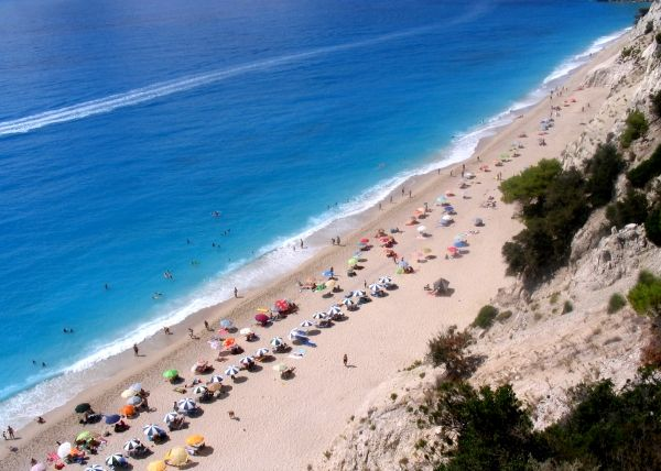 Egremni, a beach to remember