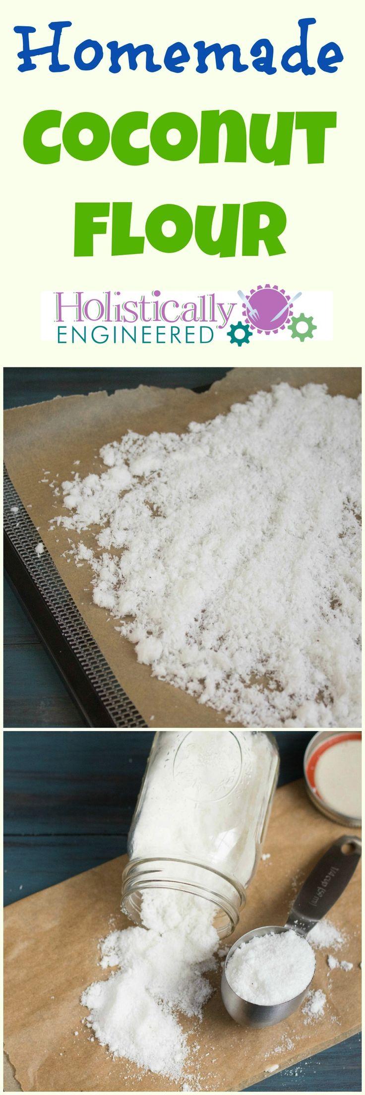 Homemade Coconut Flour | holisticallyengineered.com #paleo #grainfree #lowcarb