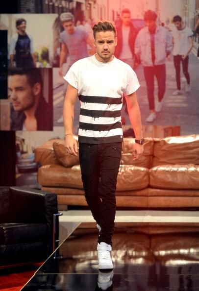 He's not Liam Payne from One Direction...He's Liam Payne...The Next Vogue Model.