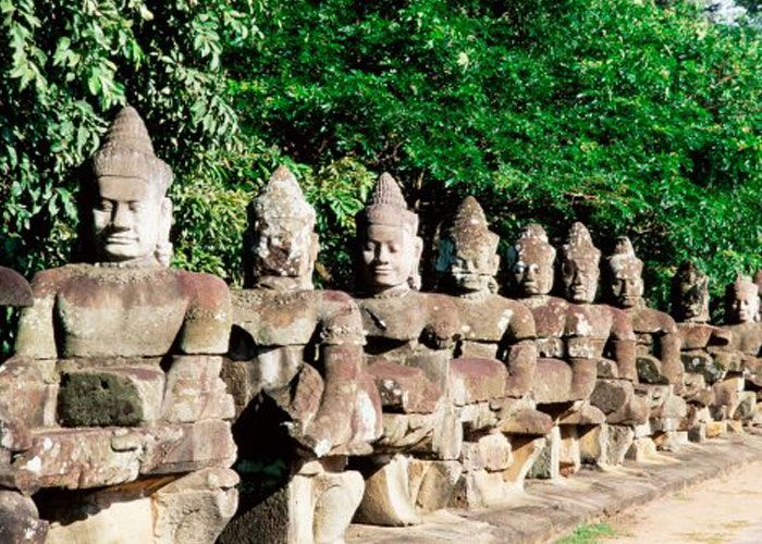 Cambodia one of the cheapest destination in Asia , it offers breathtaking beaches and temples !