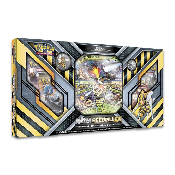 Pokémon TCG: Mega Beedrill-EX Premium Collection **AVAILABLE NOW!