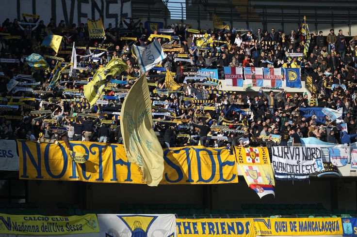 @Chievo i tifosi mussi volanti #9ine