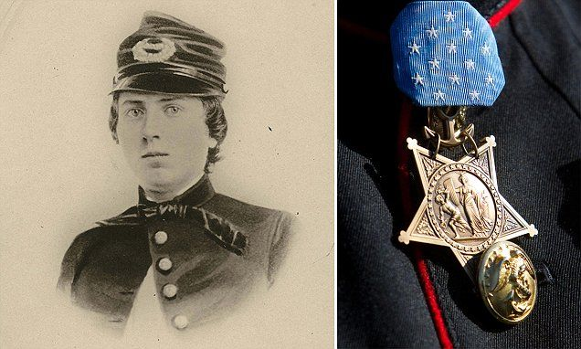Union Army 1st Lieutenant Alonzo Hersford Cushing will be awarded the Medal of Honor next month, 151 years after his death in the Battle of Gettysburg, aged 22. Cushing was killed whilst standing his ground during Pickett's Charge on July 3, 1863. His platoon was defending the Union position against Pickett's Charge, a major Confederate thrust that  turned the tide in the Civil War.