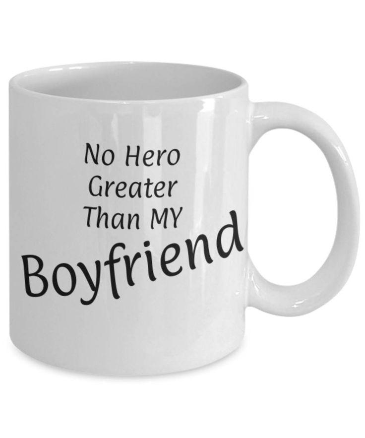 Sweetheart, Partner, No hero greater than my Boyfriend, Fun coffee mug, Christmas gift Boyfriend, Boyfriend appreciation, Gift for him, Love by expodesigns on Etsy
