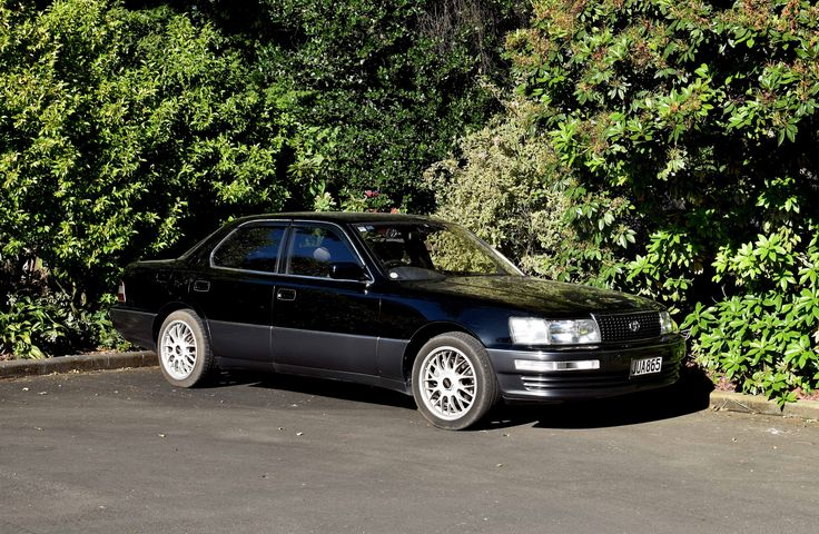 https://flic.kr/p/HtCu8R | 1994 Toyota Celsior | V8 and the classiest sounding car I've ever heard,  another of The Cars of Christchurch, New Zealand