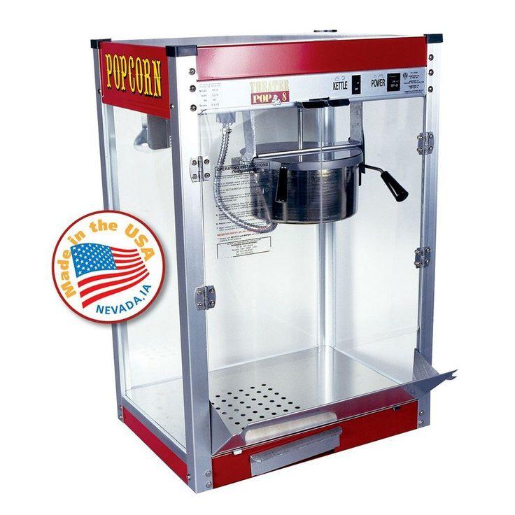 Paragon 1108110 Commercial 8 oz. Theater Popcorn Machine - 1420W