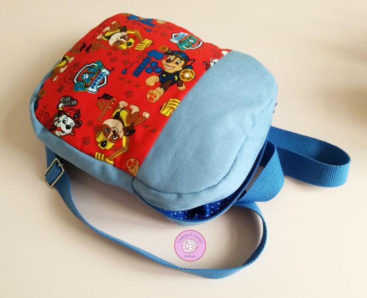 #mochila #infantil #niños #patrullacanina #pawpatrol #handmade #hechoamano #baby