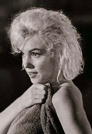"Marilyn on the set of ""Something's Got To Give"", 1962."