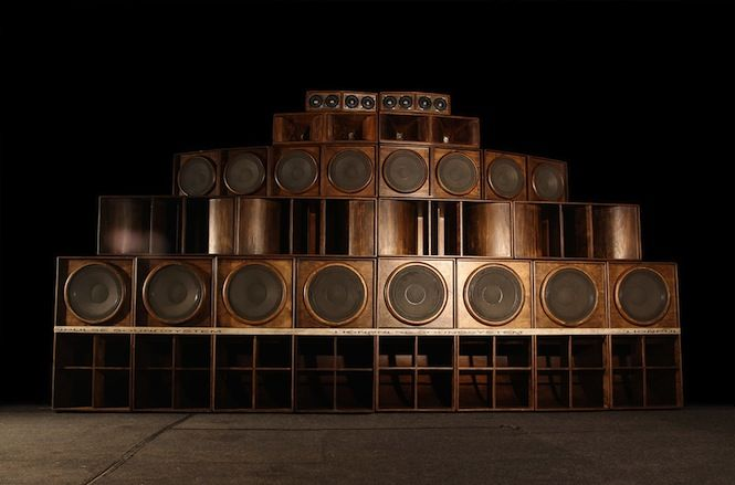 4. Lionpulse sound system, one of Bristol's recent sound systems