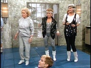 """The Golden Girls (1985-1992) - Four mature women live together in Miami and experience the joys and angst of their golden years. Strong-willed Dorothy, spacey Rose, lusty Southern belle Blanche and matriarch Sophia, Dorothy's mom, occasionally clash but are there for one another in the end. The show's theme song is titled """"Thank You for Being a Friend."""""""
