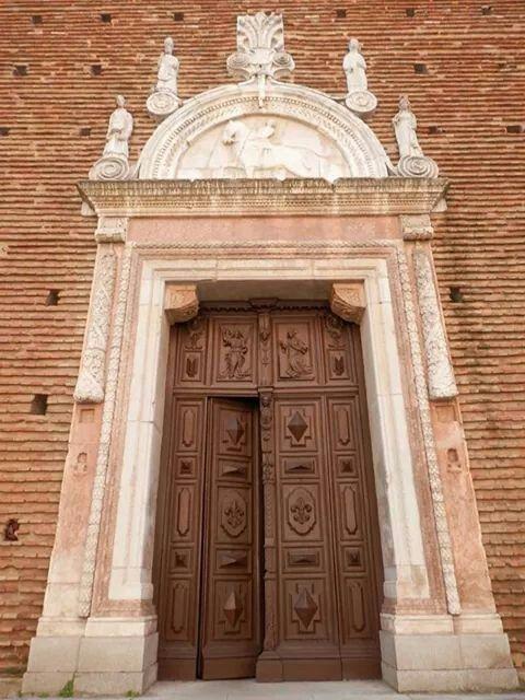 Portale chiesa del Carmine